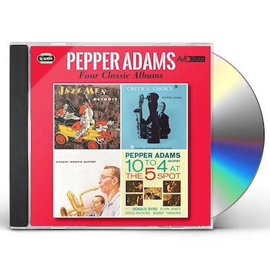 Pepper Adams JAZZMAN DETROIT / CRITICS CHOICE / QUINTET / 10 TO CD