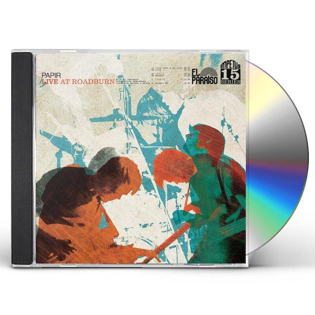 Papir LIVE AT ROADBURN CD