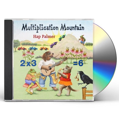 Hap Palmer MULTIPLICATION MOUNTAIN CD