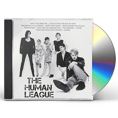 The Human League ICON CD