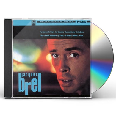 Jacques Brel VALSE A 1000 TEMPS CD