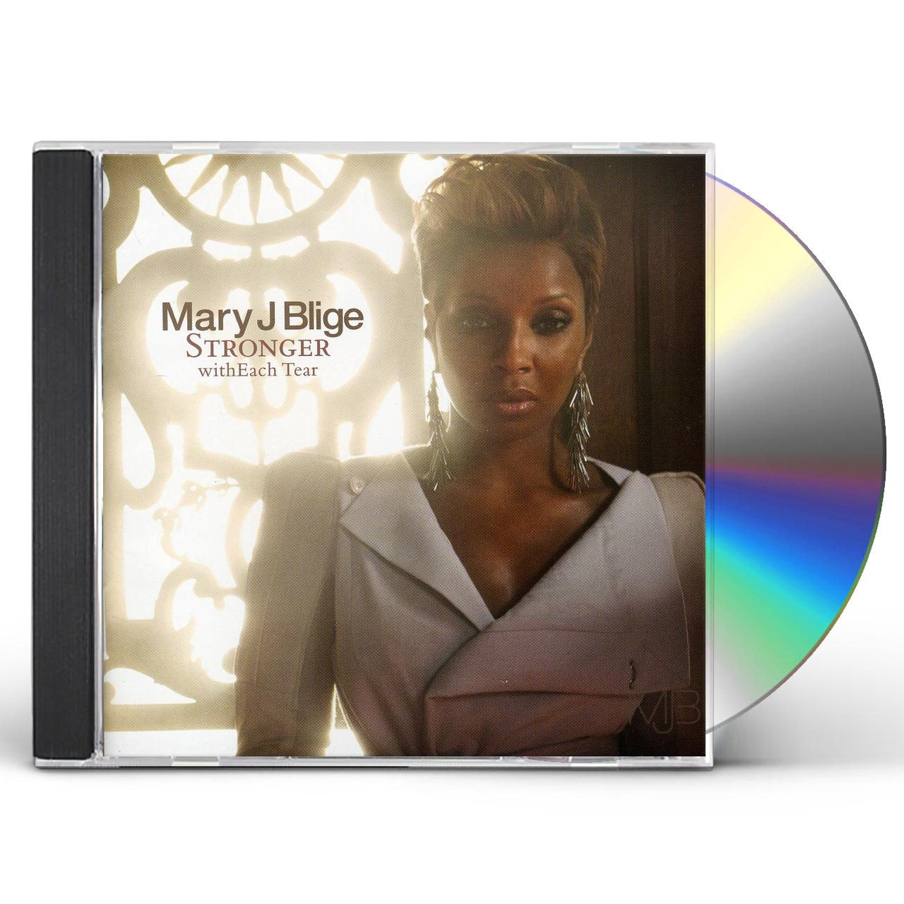 Mary J. Blige STRONGER WITH EACH TEAR CD