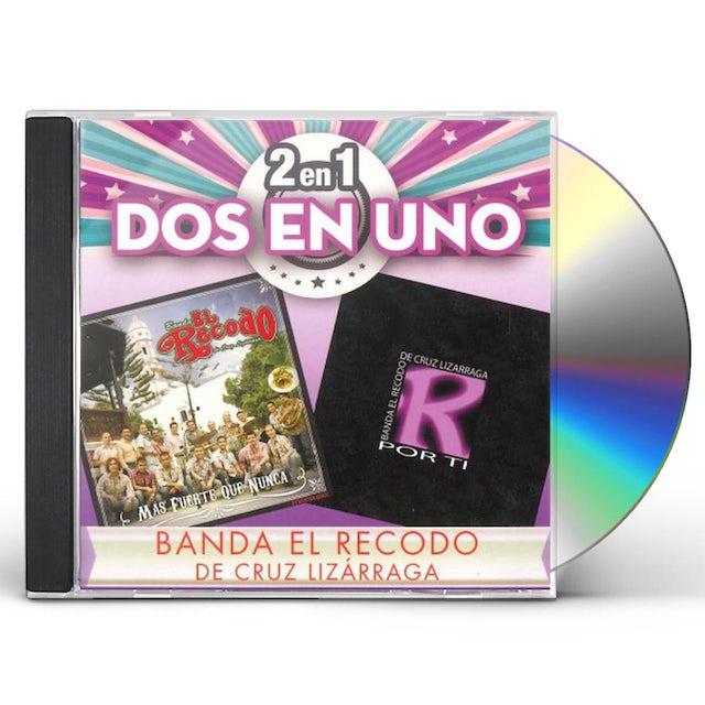 Banda El Recodo de Cruz Lizarraga 2EN1 CD