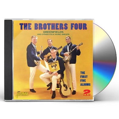 Brothers Four GREENFIELDS & OTHER FOLK MUSIC GREATS CD