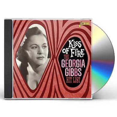 GEORGIA GIBBS HIT LIST: KISS OF FIRE CD