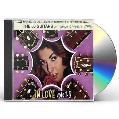 50 Guitars of Tommy Garrett IN LOVE VOLS 1 TO 3 CD