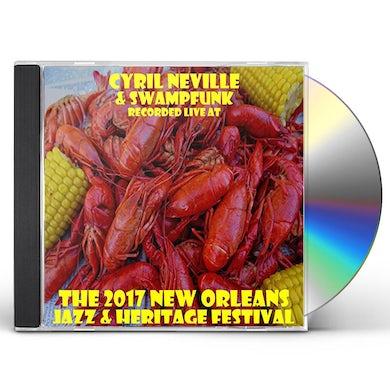 Cyril Neville LIVE AT JAZZFEST 2017 CD