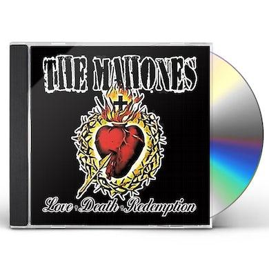 MAHONES LOVE + DEATH + REDEMPTION CD