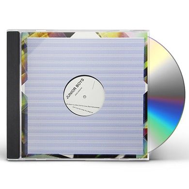 Junior Boys WHAT YOU WON'T DO FOR LOVE CD