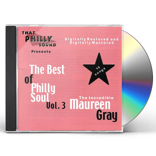 Maureen Gray BEST OF PHILLY SOUL 3 CD