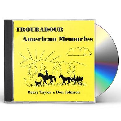 Troubadour AMERICAN MEMORIES CD