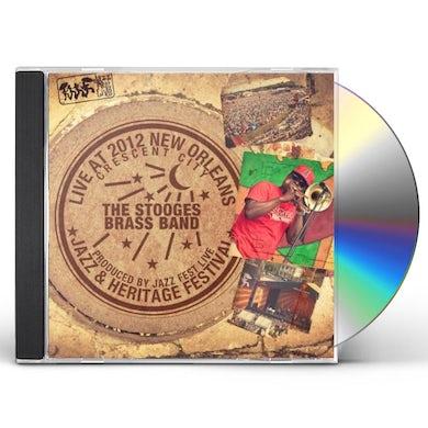 Stooges Brass Band LIVE AT JAZZFEST 2012 CD