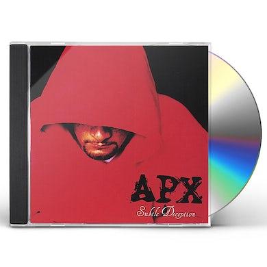 APX SUBTLE DECEPTION CD