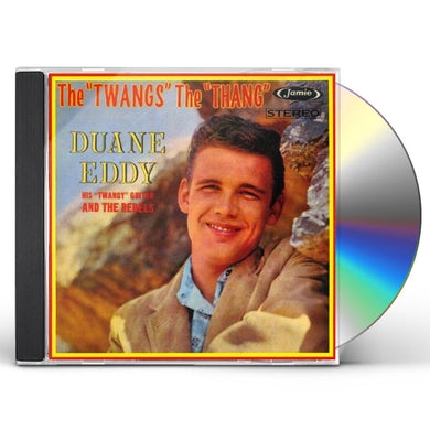 Duane Eddy TWANGS THE THANG CD