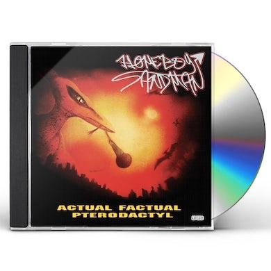 Homeboy Sandman ACTUAL FACTUAL PTERODACTYL CD