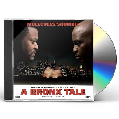 Molecules & Showbiz A BRONX TALE CD