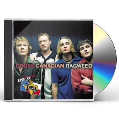 Cross Canadian Ragweed LIVE & LOUD AT BILLY BOB'S TEXAS CD