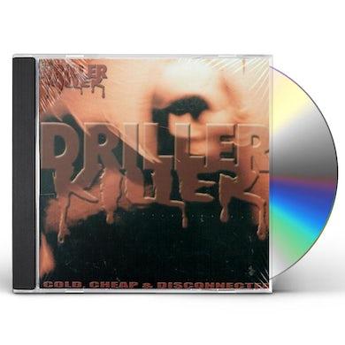 Driller Killer COLD CHEAP & DISCONNECTED CD