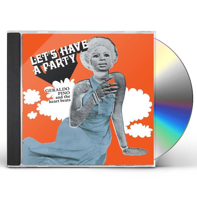 Geraldo Pino & Heartbeats LET'S HAVE A PARTY CD