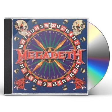 CAPITOL PUNISHMENT: THE MEGADETH YEARS CD