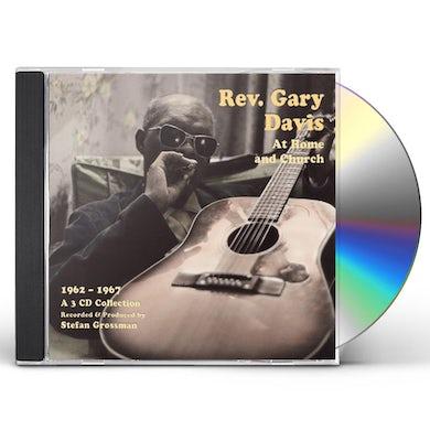 REV GARY DAVIS AT HOME & CHURCH (1962-1967) CD