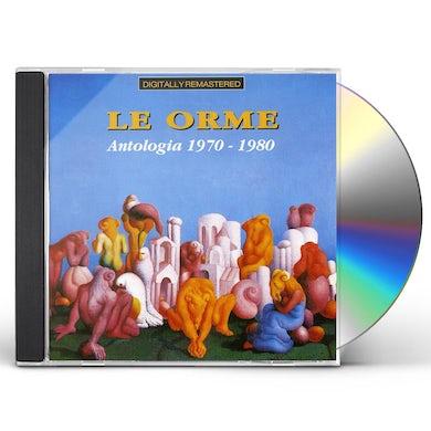 Le Orme ANTOLOGIA 1970-1980 CD