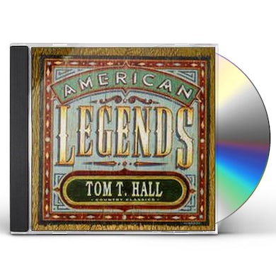 Tom T Hall AMERICAN LEGENDS CD