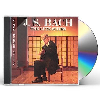 J.S. Bach LUTE SUITES CD