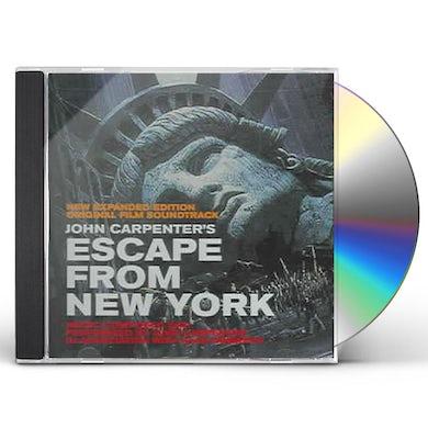 Escape From New York / O.S.T. ESCAPE FROM NEW YORK / Original Soundtrack CD