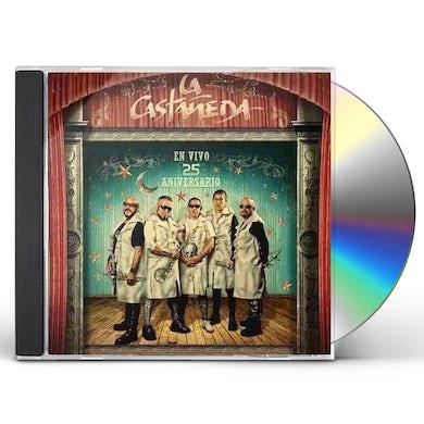 La Castaneda EN VIVO: 25 ANIVERSARIO CD