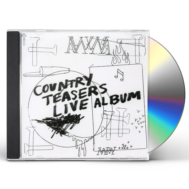 COUNTRY TEASERS: LIVE ALBUM CD