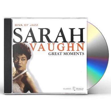 Sarah Vaughan Great Moments CD