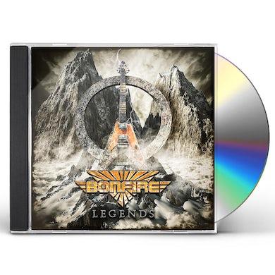 Bonfire LEGENDS CD - UK Release