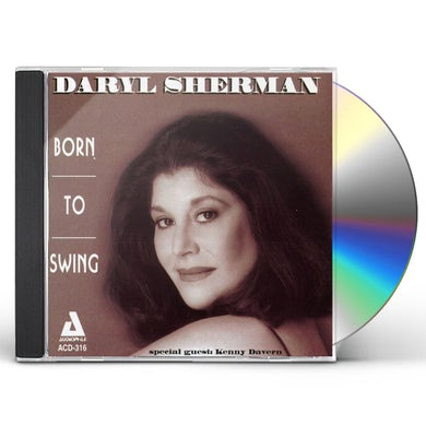 Daryl Sherman BORN TO SWING CD