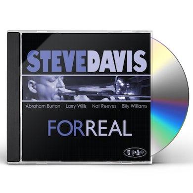 Steve Davis FOR REAL CD
