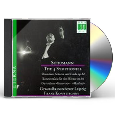 Schumann FOUR SYMPHONIES CD