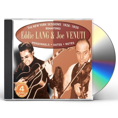 Eddie Lang & Joe Venuti NEW YORK SESSIONS 1926-1935 CD