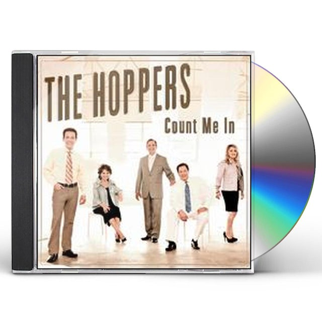 Hoppers COUNT ME IN CD