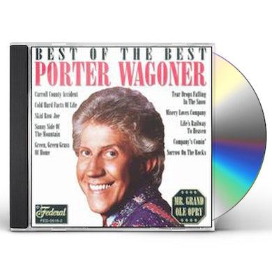 Porter Wagoner BEST OF THE BEST CD