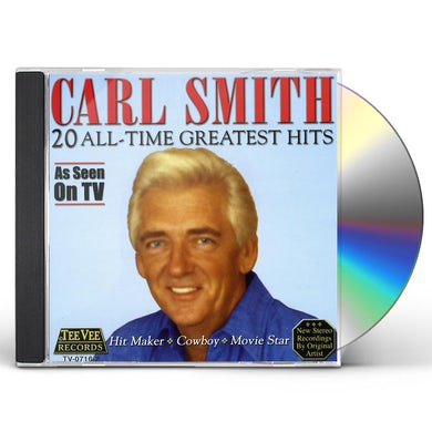 Carl Smith 20 ALL TIME GREATEST HITS CD