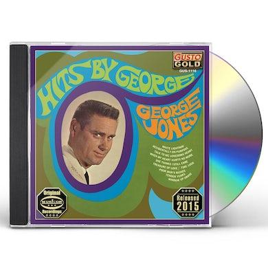 George Jones HITS BY GEORGE CD