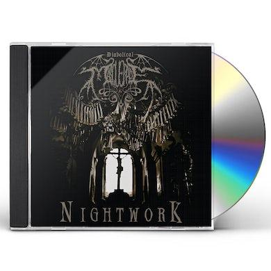 DIABOLICAL MASQUERADE NIGHTWORK CD