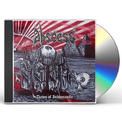 Abscess DAWN OF INHUMANITY CD