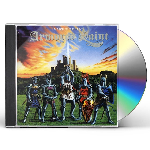 Armored Saint MARCH OF THE SAINT S.E CD