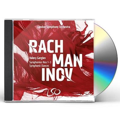 RACHMANINOV: SYMPHONIES NOS.1-3 SYMPHONIC DANCES Super Audio CD