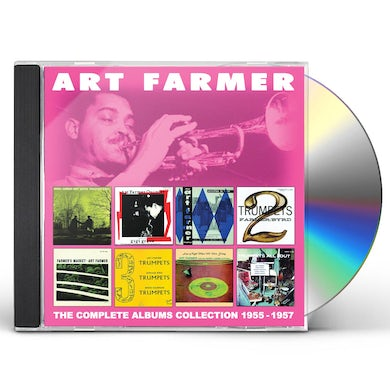 Art Farmer COMPLETE ALBUMS COLLECTION: 1955-1957 CD