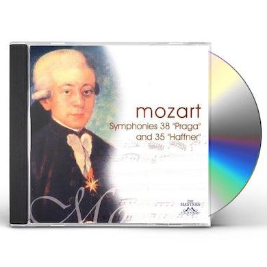 W.A. Mozart SYMS 38/35 CD