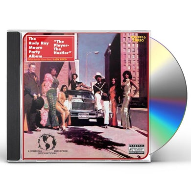 Rudy Ray Moore PLAYER THE HUSTLER CD