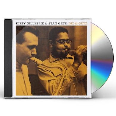 Dizzy Gillespie DIZ & GETZ CD