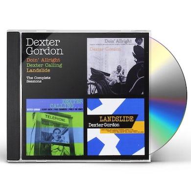 Dexter Gordon DOIN' ALLRIGHT + DEXTER CALLING + LANDSLIDE CD